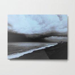 La tormenta Metal Print