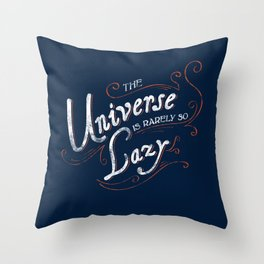What do we say about coincidence? Throw Pillow