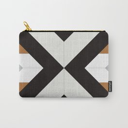 Geometric Art with Bands 12 Carry-All Pouch