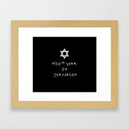 Next year in Jerusalem 5 Framed Art Print