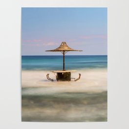 Seaside Bar Poster