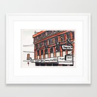 philippines Framed Art Prints featuring Philippines : Calvo Building by Ryan Sumo