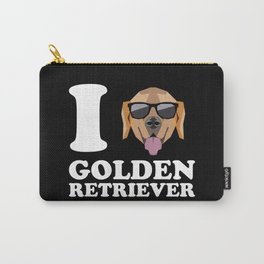 I Love Golden Retriever modern v2 Carry-All Pouch