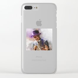 Gord Downie Hat Clear iPhone Case