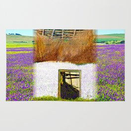 Purple House Rug