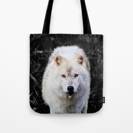 The Wolf Stare Tote Bag