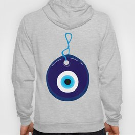Turkish Blue Eye Bead Hoody