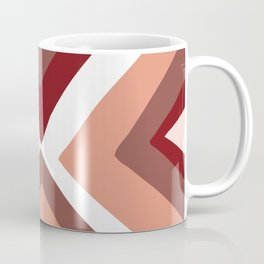 Geometric Triangle Print - Tribal Like Triangles Coffee Mug