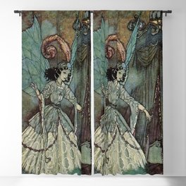 """The Beauty Asleep"" by Edmund Dulac Blackout Curtain"