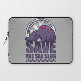 Save The Sea Slug Laptop Sleeve