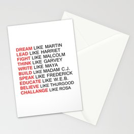 BLACK HISTORY FIGURE Stationery Cards