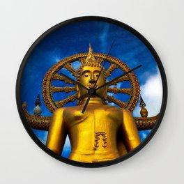 Lord Buddha Thailand Wall Clock