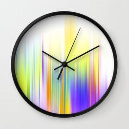 Sorbet Ombre Wall Clock