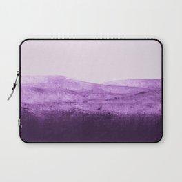 Amethyst Watercolor Crush Laptop Sleeve