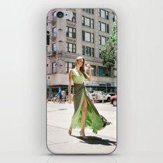 Green Dress in Downtown LA iPhone & iPod Skin