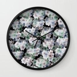 Narcissus pattern Wall Clock