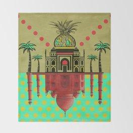 pineapple architecture 2 Throw Blanket