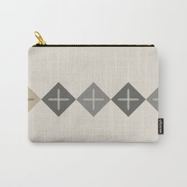 Cross Stitch Neutral Carry-All Pouch