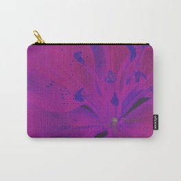 Star Gazer Lilly Up Close Solarized colors #2 Carry-All Pouch