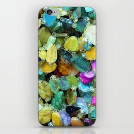 Colorful Gems iPhone Skin