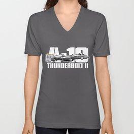 A-10 Thunderbolt II Unisex V-Neck