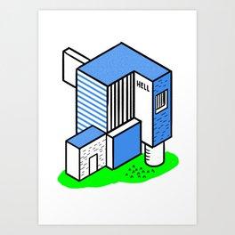 confined Art Print