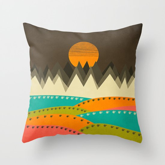 Textures/Abstract 122 Throw Pillow