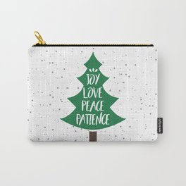 Tree of Christmas Present Carry-All Pouch