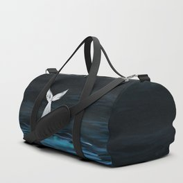 whale of the night Duffle Bag