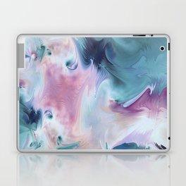 Abstract Art- Watercolor Art- Fractal Art- Blue Art- Ocean- Water- Marann Laptop & iPad Skin