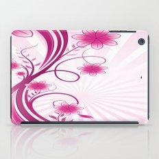 Pretty Pink Flourish and Flower iPad Case