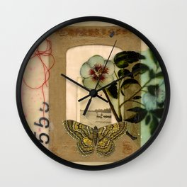 Day of the Red Sun Wall Clock