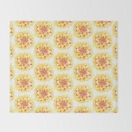 Marigold Mandala Throw Blanket