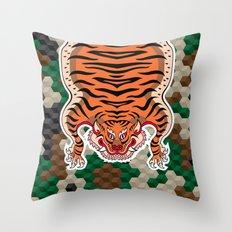 TIBETAN TIGER Throw Pillow
