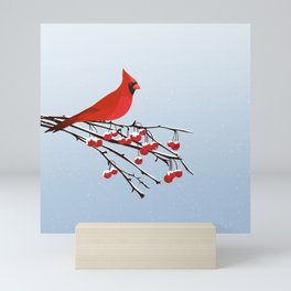 AFE Red Cardinal Mini Art Print