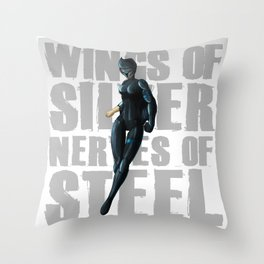 Silverhawks Steelheart Throw Pillow