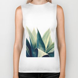 Botanical cactus I Biker Tank