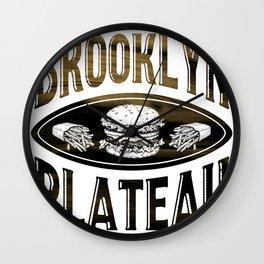 Brooklyn X Plateau - NYC x MTL Wall Clock
