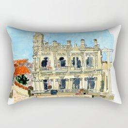 Hotel Shell in Habana Vieja, Cuba Rectangular Pillow