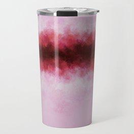 Strawberry Pink Horizon Travel Mug