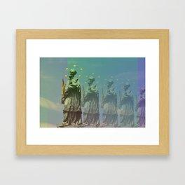 Wazzup Guys Framed Art Print