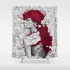 The Sacred Shade Shower Curtain
