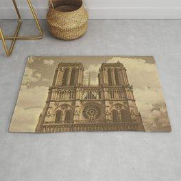 Notre Dame vintage look Rug