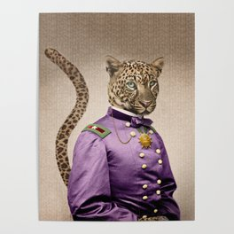 Grand Viceroy Leopold Leopard Poster