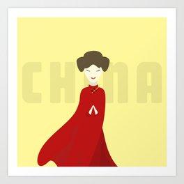 China Doll Art Print