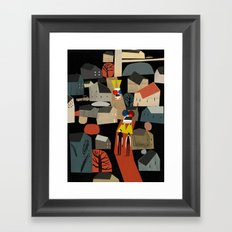 Wolf Boys Framed Art Print