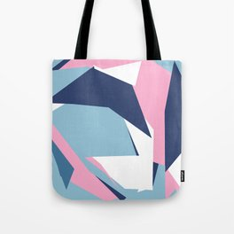 Dow Map Pink Tote Bag
