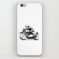 Vintage Motorcycle iPhone & iPod Skin