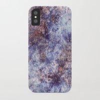 batik iPhone & iPod Cases featuring Batik Crackle by Amy Sia