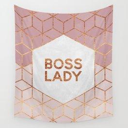 Boss Lady / 2 Wall Tapestry